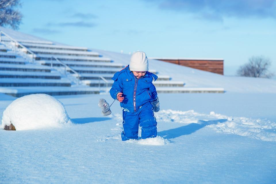 Snow, Child, Girl, Cold, Children, Winter, Fun, Wintry