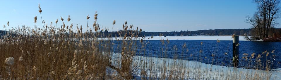 Winter, Lake, Wintry, Ice, Snow, Frozen, Winter Lake