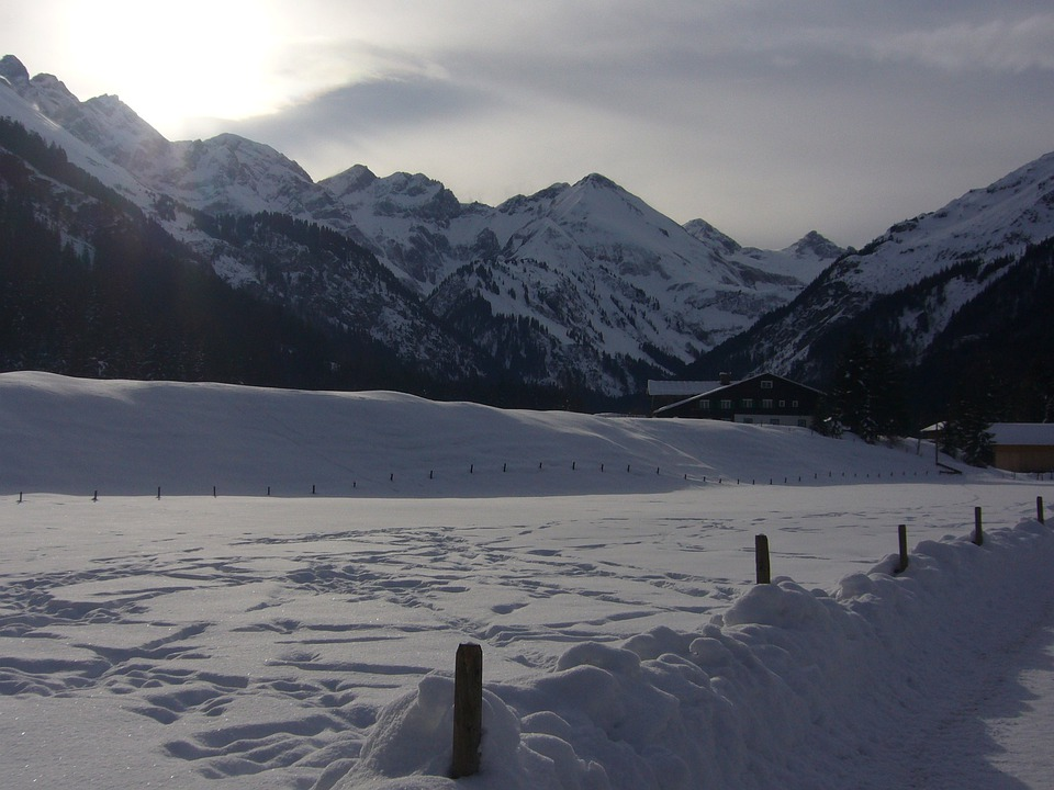 Winter, Mountains, Wintry, Snow