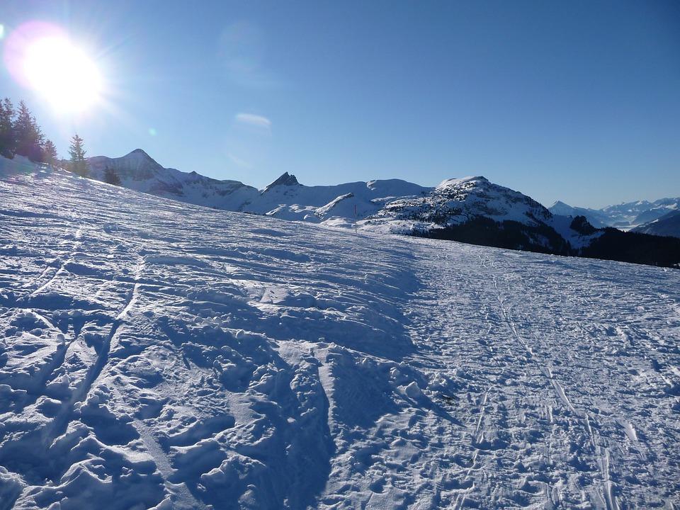 Snow, Winter, Wintry, Footprints, Cold, Snow Lane