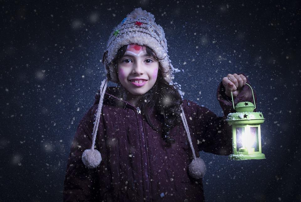 People, Adult, Woman, Portrait, Winter, Snow, Wear