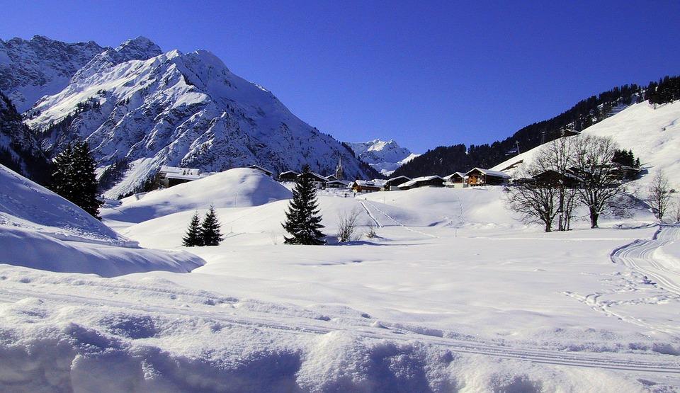 Winter, Mountains, Snow, Wintry, Alpine, Ski Area