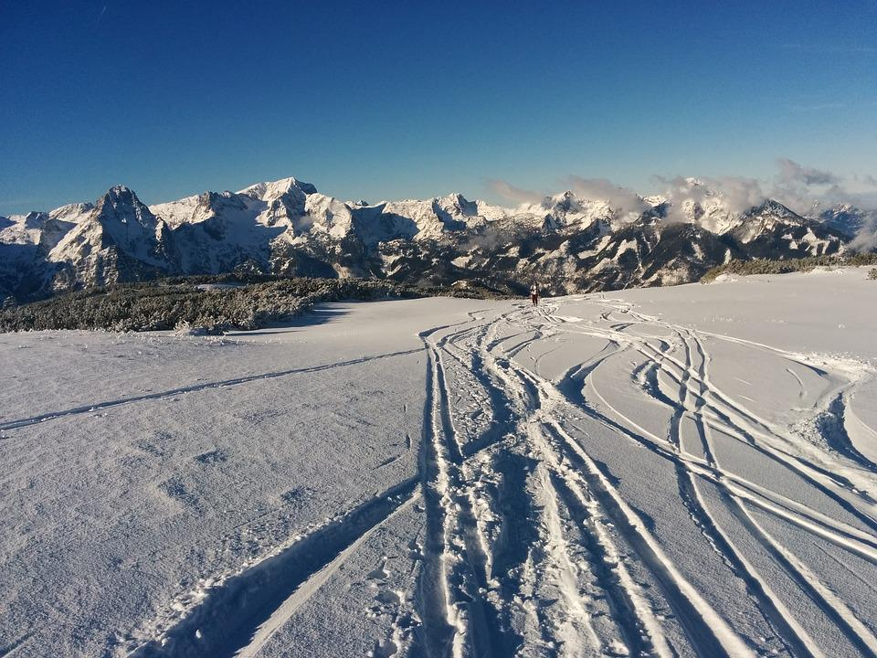 Snow, Mountains, Backcountry Skiiing, Winter, Wintry