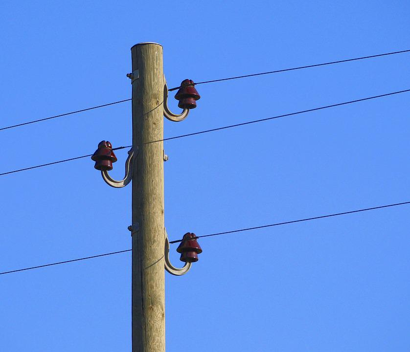 Power Line, Line, Rural, Supply, Electricity, Wire
