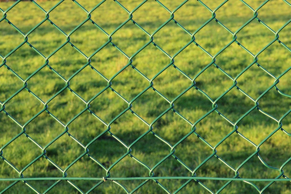 Free photo Wire Garden Fence Fence Wire Mesh Fence Green - Max Pixel