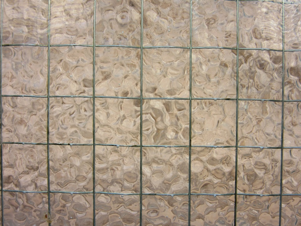 Wire Glass, Wire, Glass, Grid, Unbreakable, Texture
