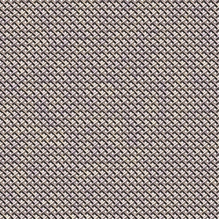 Wire Mesh Screen Metal Texture Frame