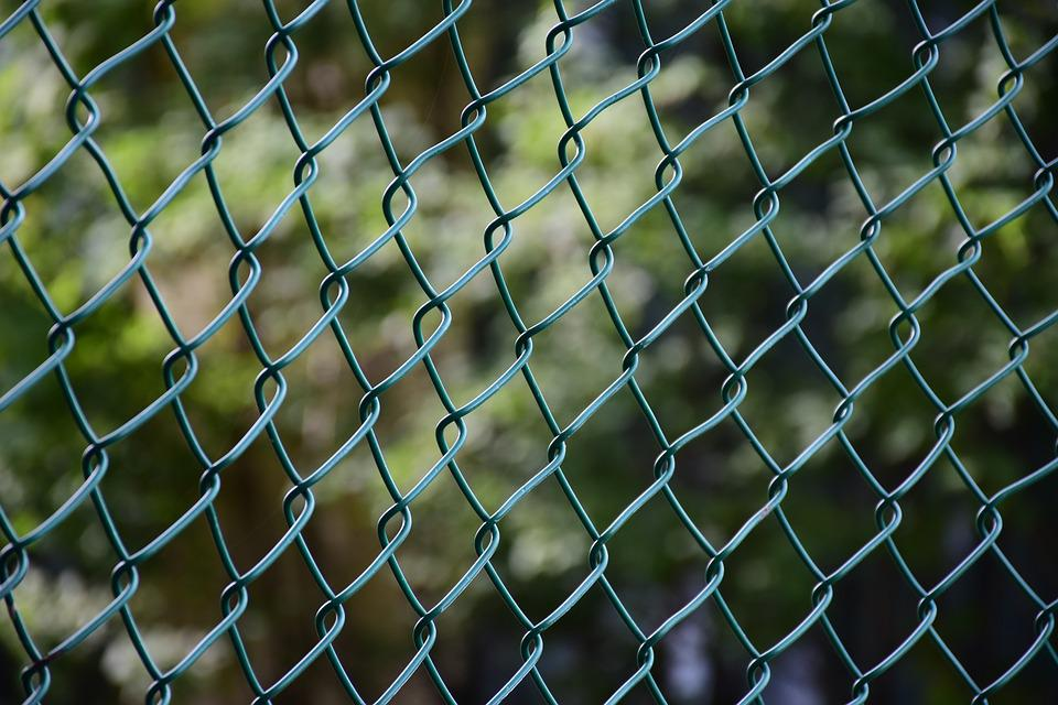 Free photo Wire Metal Steel Barrier Texture Fence Pattern - Max Pixel