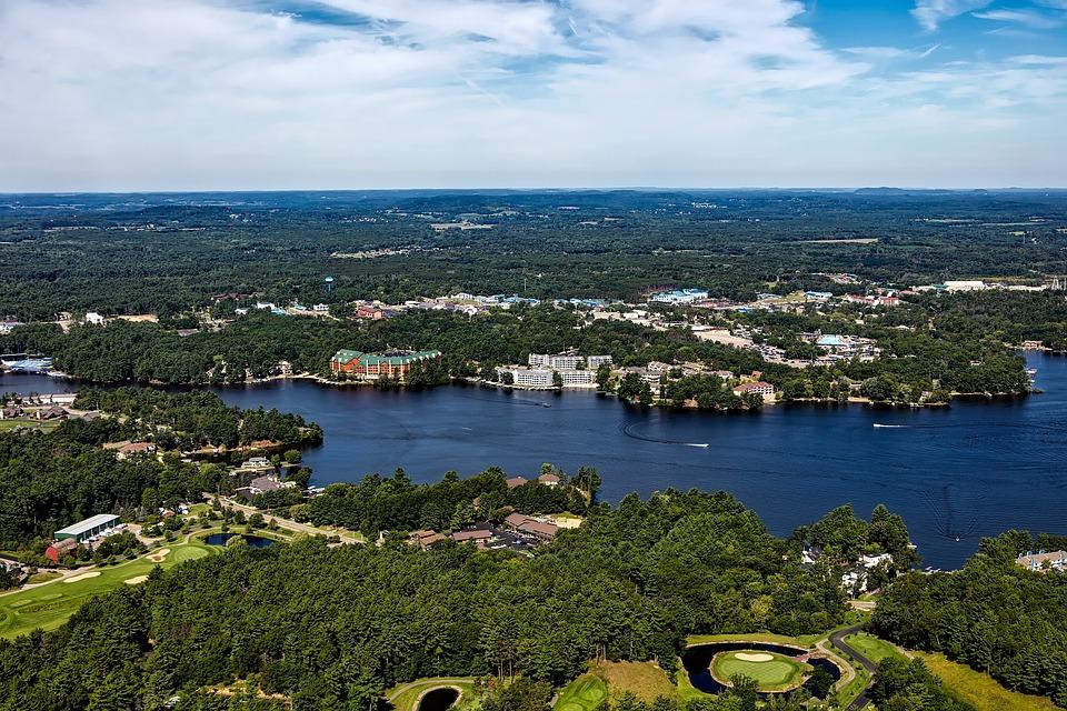 Wisconsin Dells, Aerial View, Landscape, Scenic