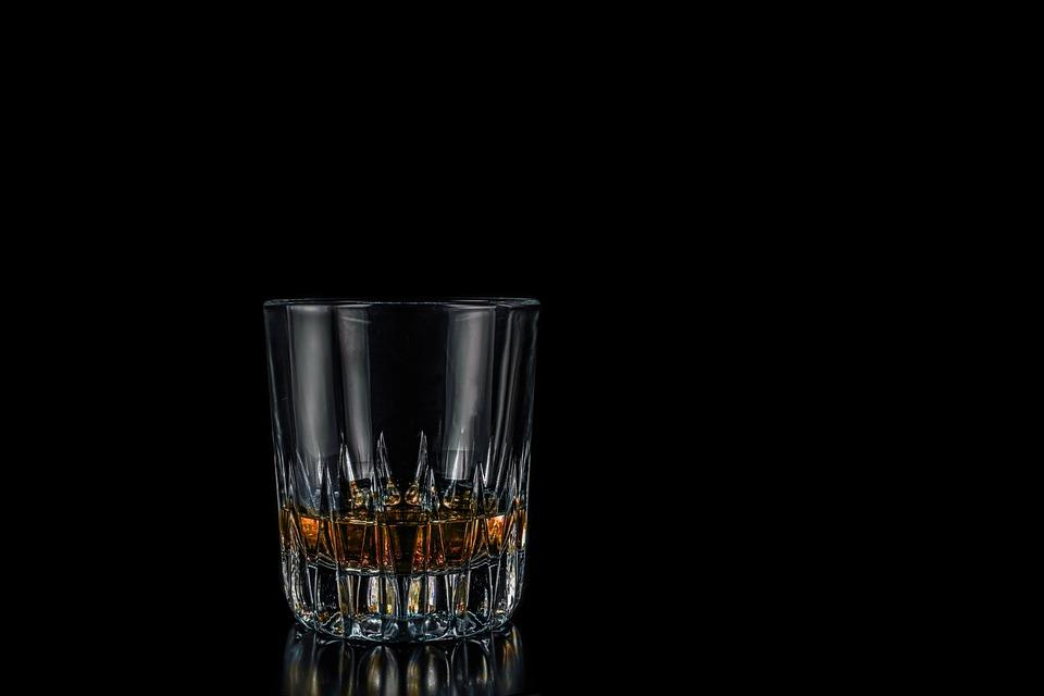 Whisky, Glass, Whiskey Glass, Whiskey, Wiskeyglas