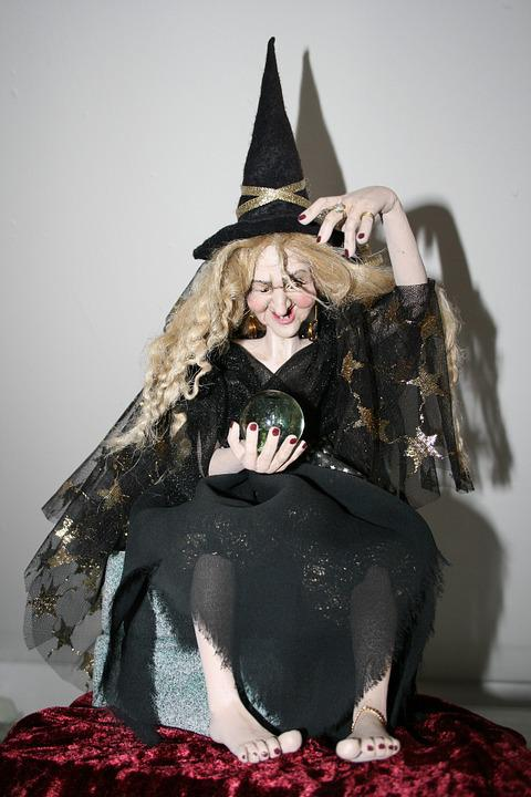 The Witch, Glass Ball, True Legend Ball, Witch Hat