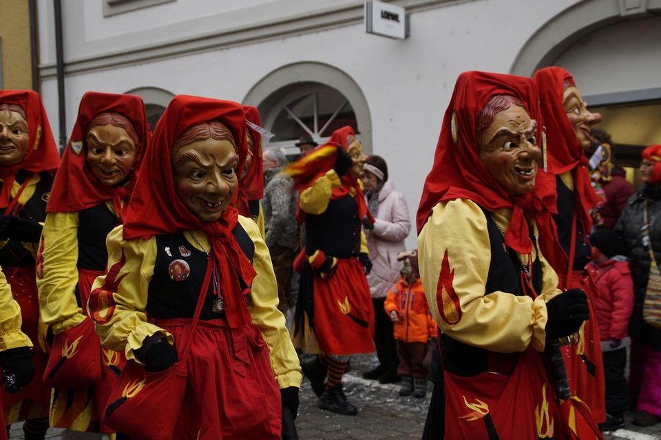 Witches, Fire Witch, Strassenfasnet, Fools Jump
