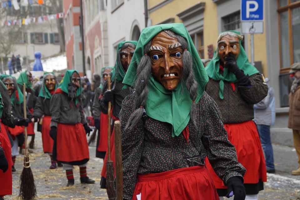 Witches, Strassenfasnet, Fools Jump, Swabian Alemannic