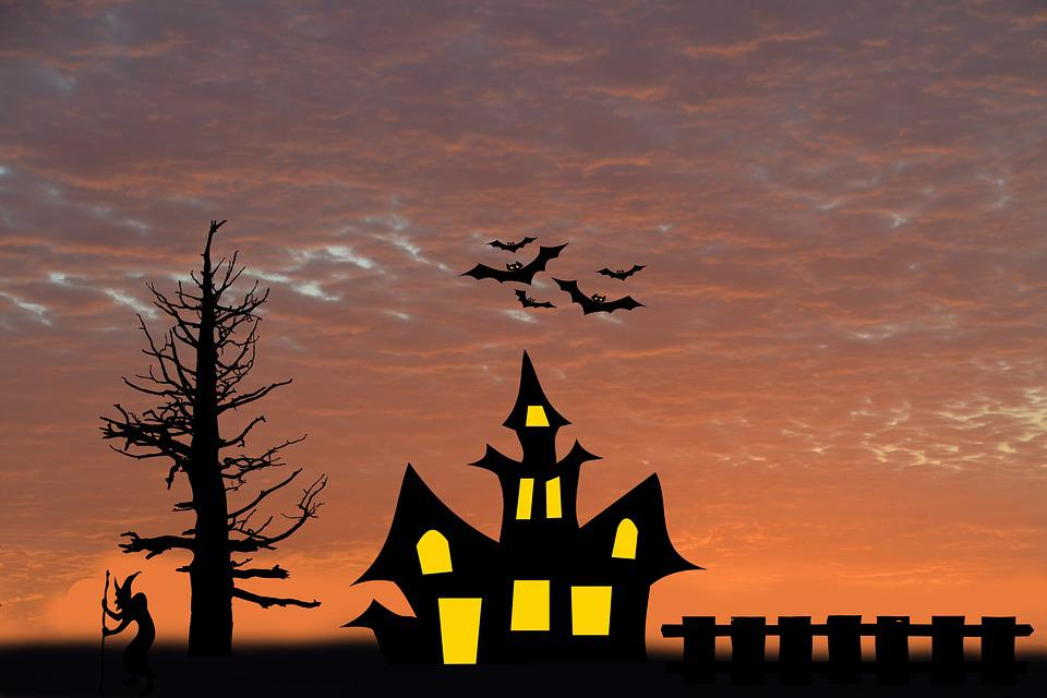 Dawn, Tree, Witch's House, Fence, The Witch