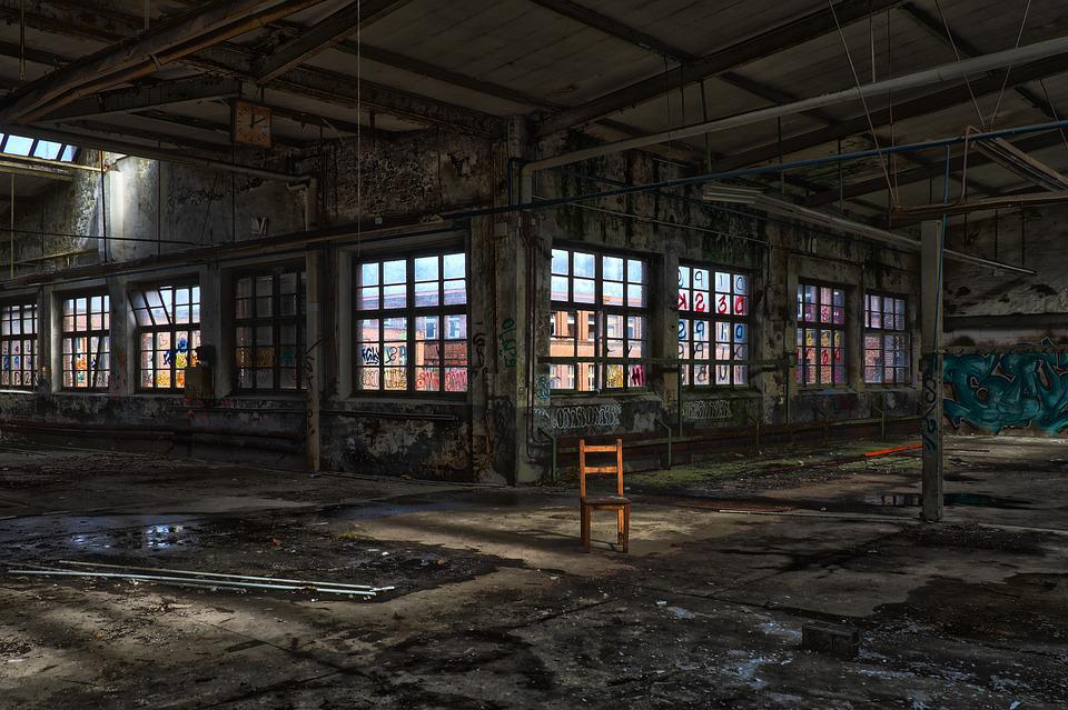 Abandoned, Architecture, Old, Window, Within, Building