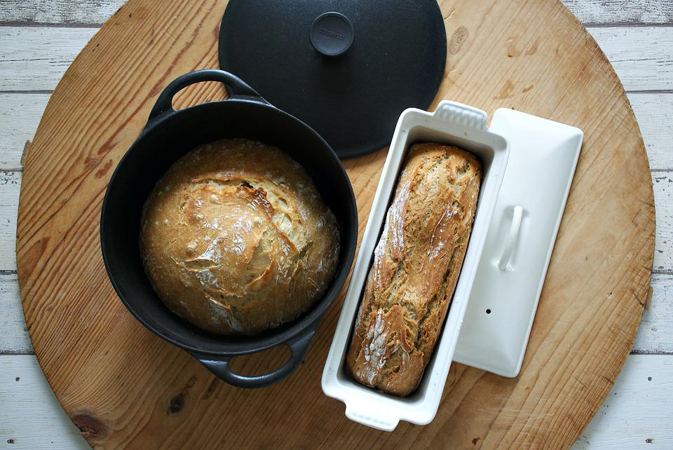 Bread, Pot Bread, Without Kneading, No-knead-bread