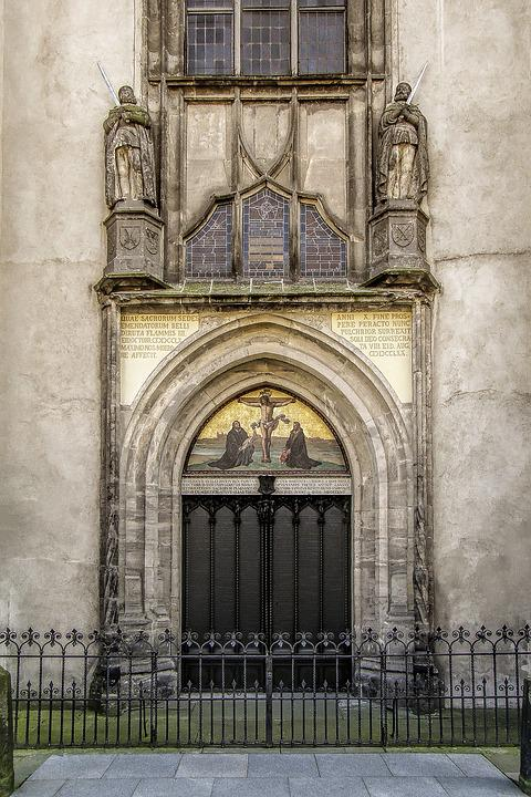 Luther, Wittenberg, Castle Church, 95 Theses, Bible