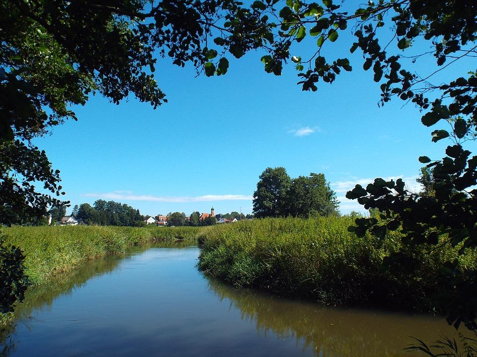 Wollishausen, Schmutter, Nature, Landscape, Of Course