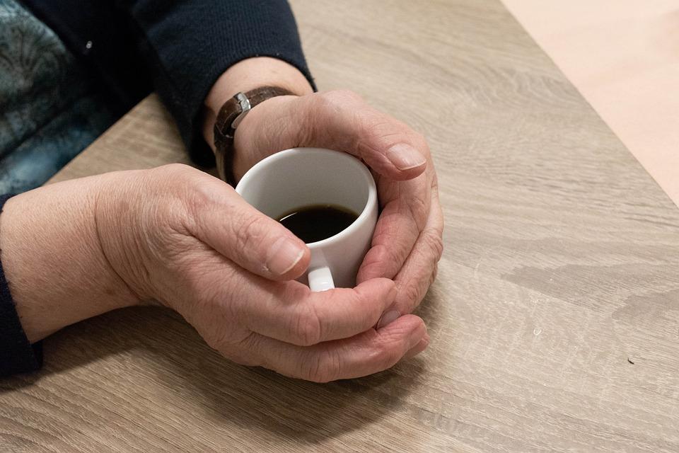 Hand, Woman, Adult, Hands, Elderly, Self-reliance