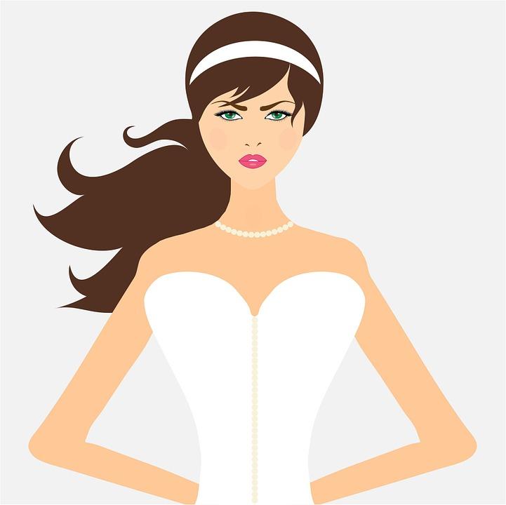 Bride, Woman, Girl, Female, Lady, Beautiful, Art