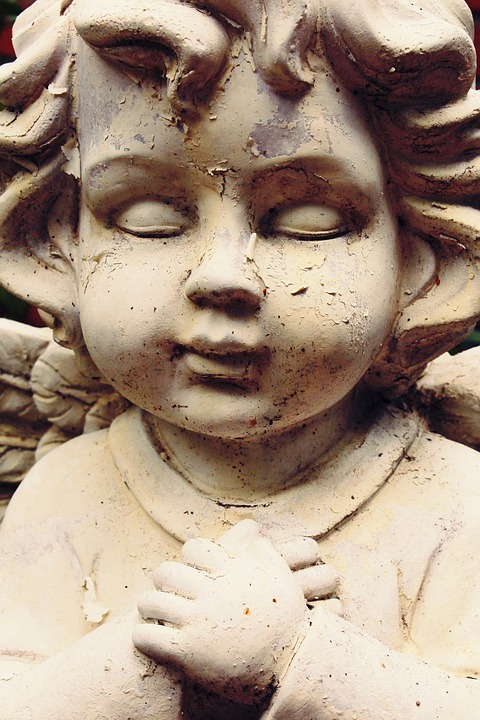 Statue, Fig, Sculpture, Woman, Angel, Face, Art