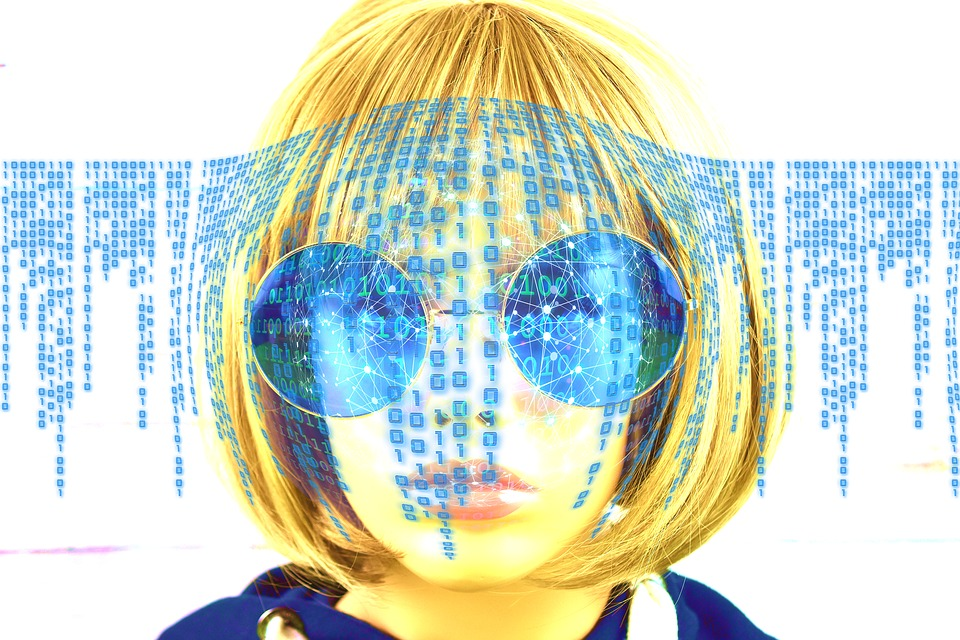 Woman, Stylish, Network, Binary, One, Null, Attack