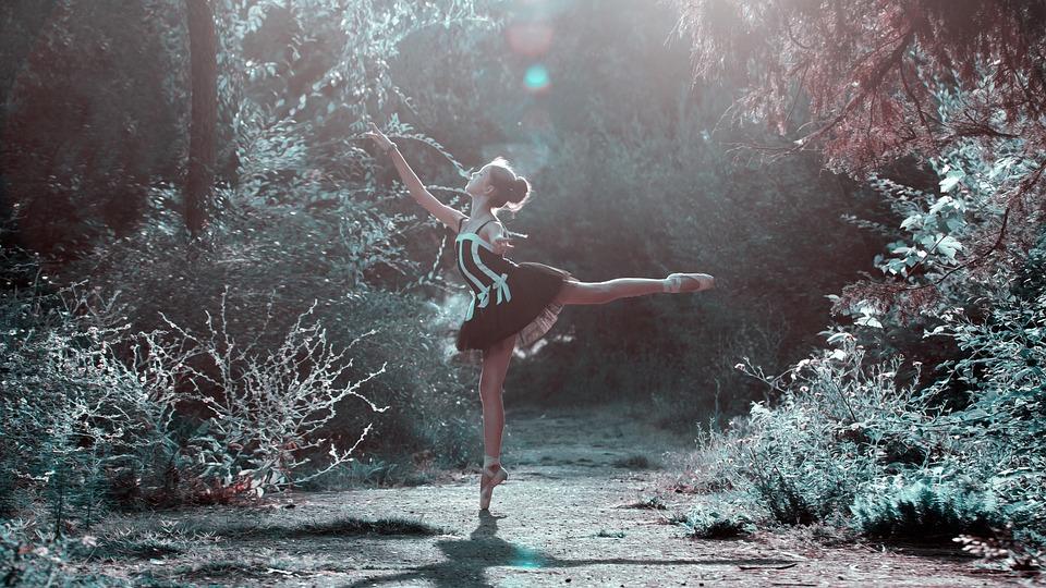 Ballet Pose, Girl, Legs, Dancing, Beautiful, Woman