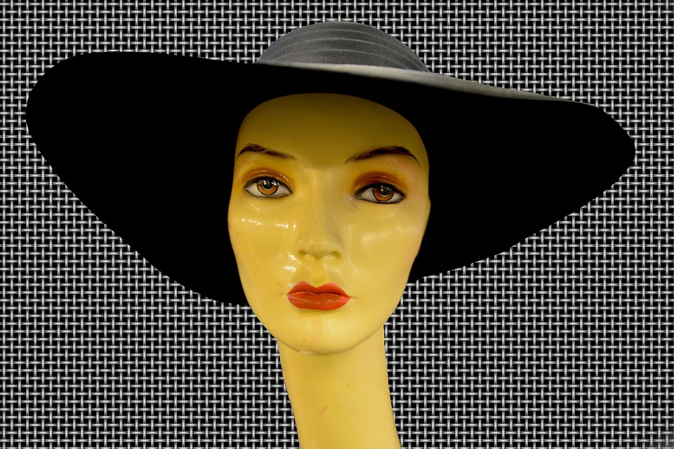 Hat, Woman, Face, Black, Young, Person, Female, Girl