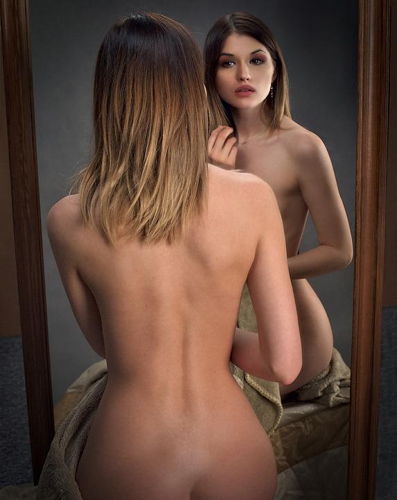 The Act Of, Mirror, Woman, Portrait, Browse The