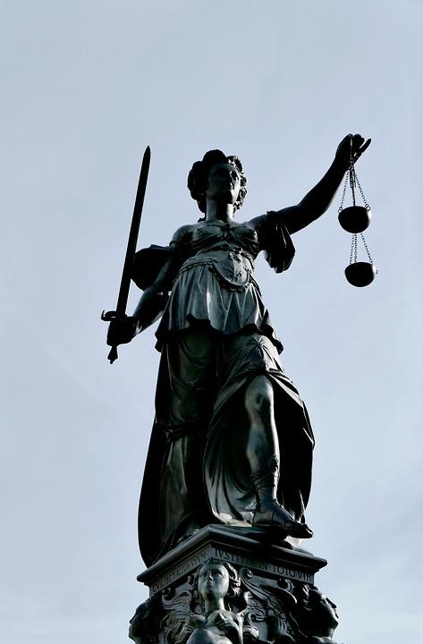 Justitia, Justice, Case Law, Symbol, Woman, Jura, Right