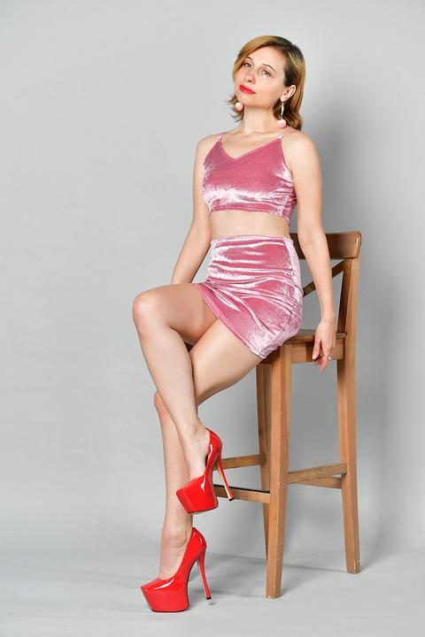 Woman, Model, Portrait, Chair, Sit, Sitting