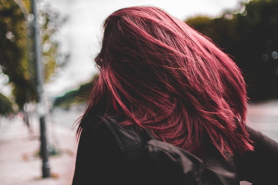 Berlin, City, Human, Woman, Pink, Hair, Move, City Life