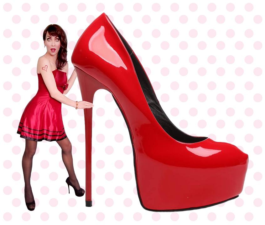 Women's Day, Women Shoes, High Heels, Woman, Clothing