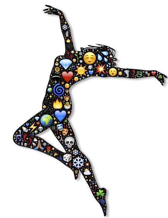 Dancer, Prance, Emoji, Performance, Female, Girl, Woman