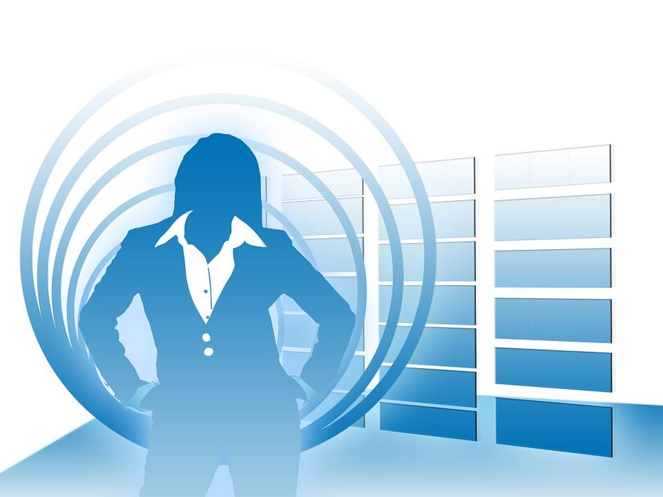 Woman, Silhouette, Businesswoman, Executive