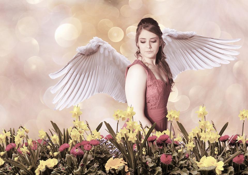 Angel, Wings, Girl, Woman, Angelic, Female, Fantasy