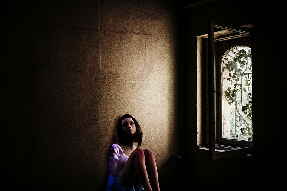 Girl, Teenager, Human, Woman, Window