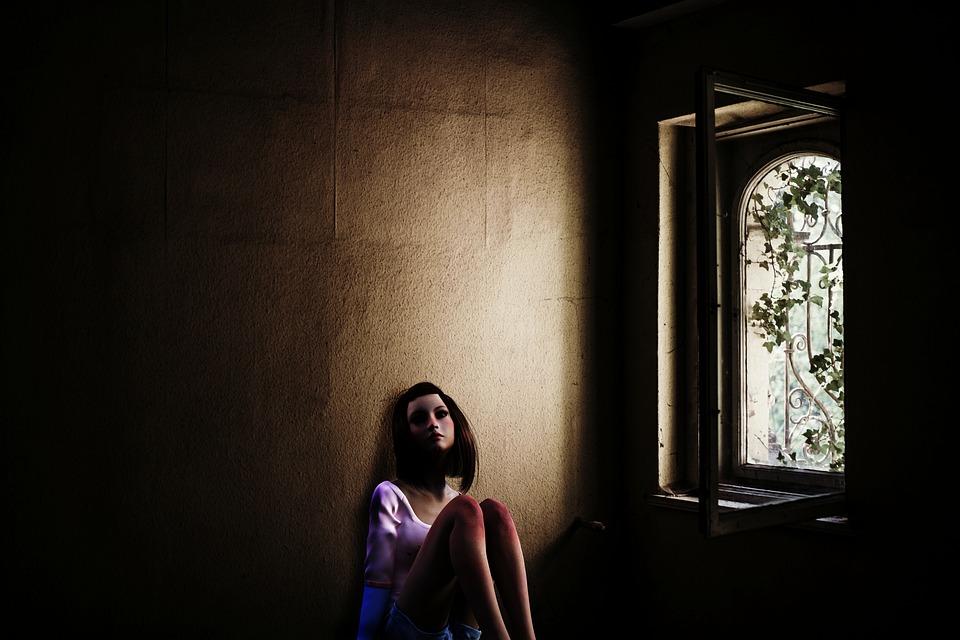 Girl, Teenager, Human, Woman, Window