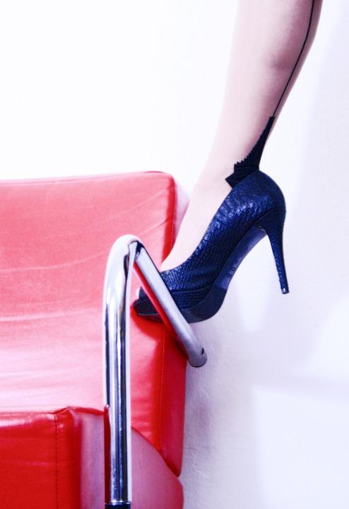 High Heels, Woman, Leg, Shoe