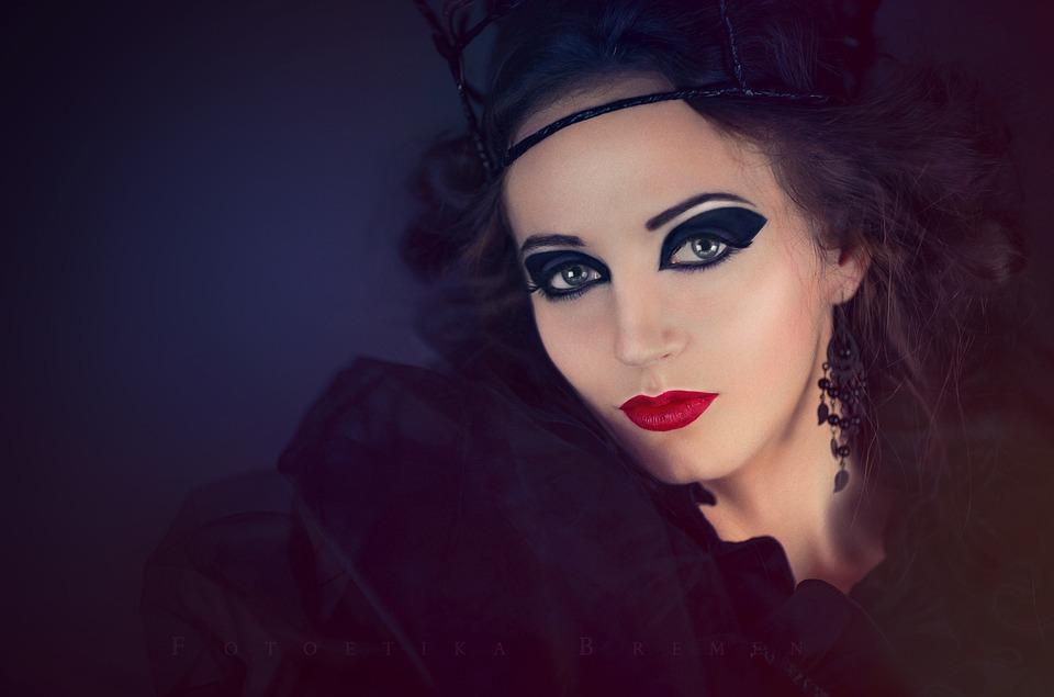 Woman, Makeup, Portrait, Melted, Make Up, Face, Human