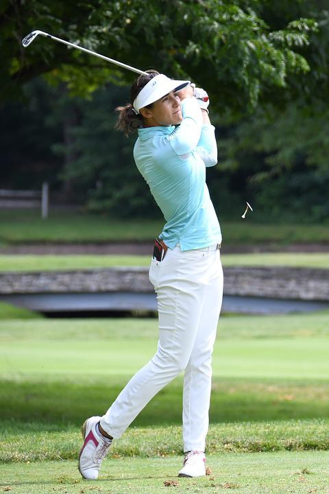 Golf, Lpga, Symetra, Female, Tee, Shot, Course, Woman