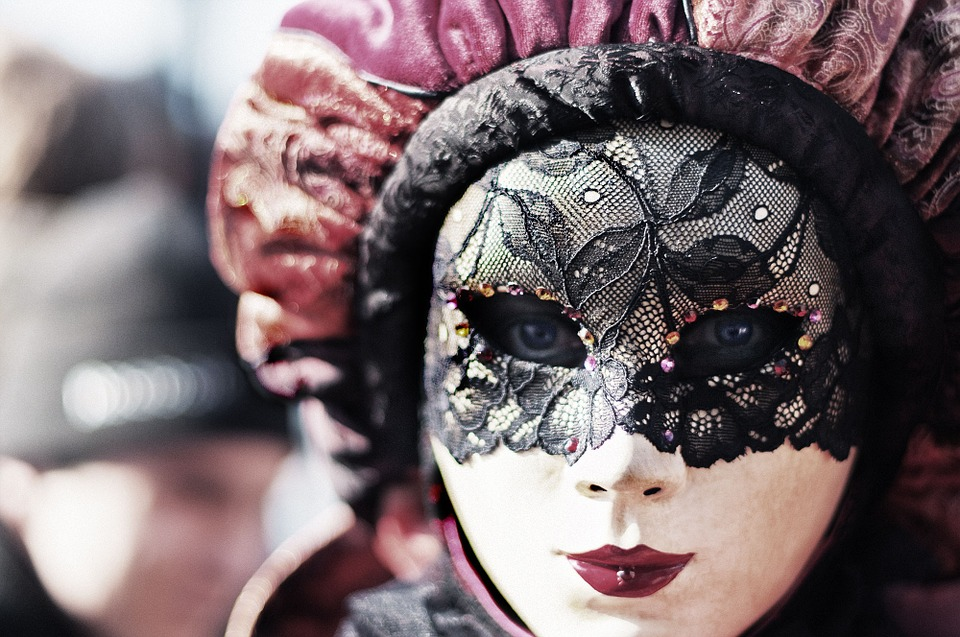 Carnival, Venice, Eyes, Mask, Woman