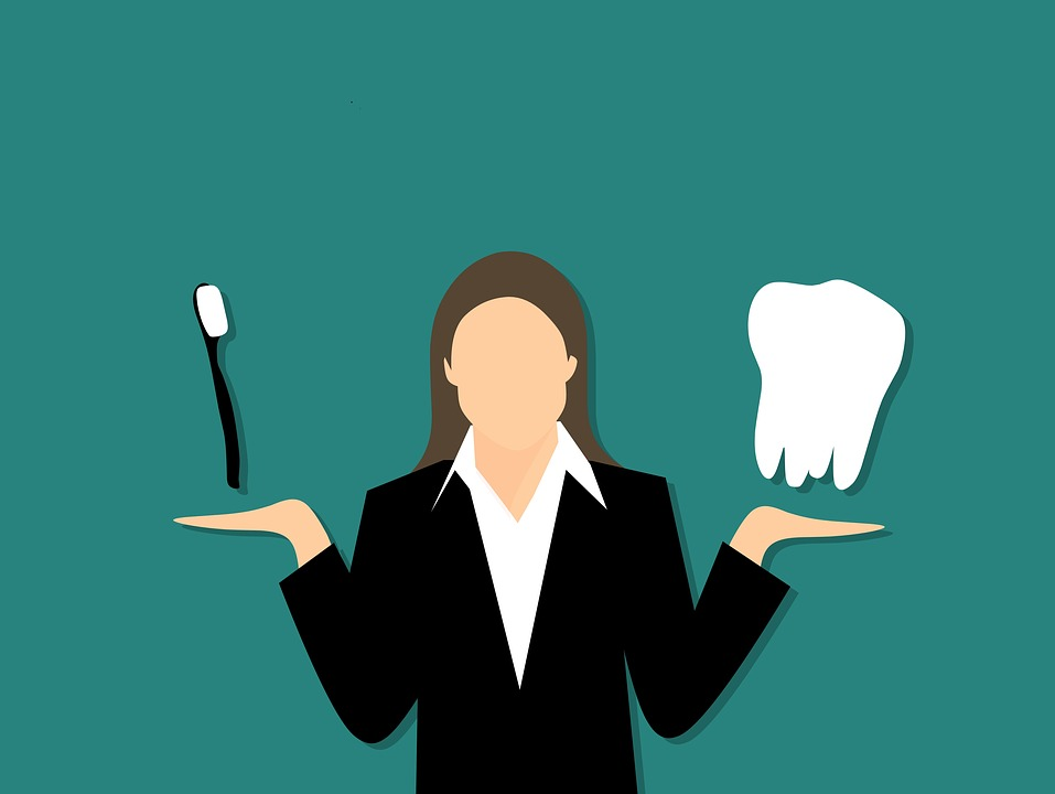 Dentist, Tooth, Toothbrush, Jaw, Woman, Medical, Care