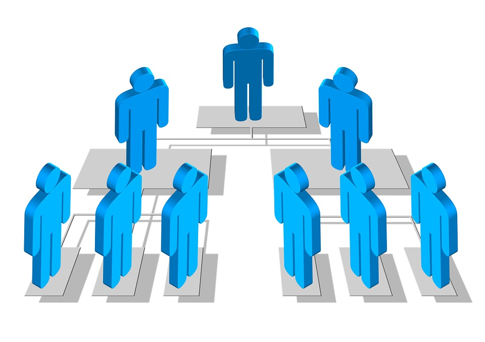 Silhouettes, Hierarchy, Human, Man, Woman, Organization