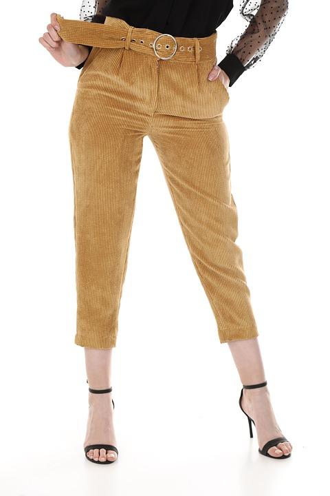 Pants, Fashion, Clothes, Woman, Young, Model, Pose