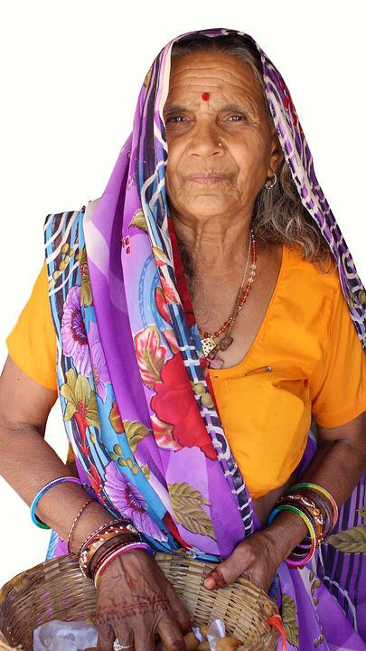 Traditional, Woman, People, Culture, Old Women