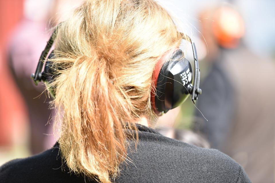 Hair, Pony Tail, Woman, Ear Protection, Main