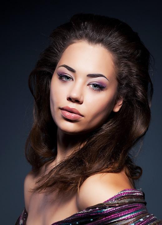 Fashion, Portrait, Model, Woman, Charm, Girl, Hair