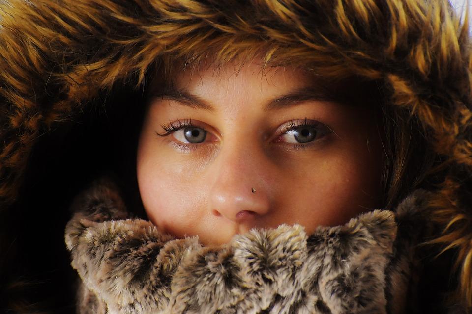 Woman, Winter, Cold, Cap, Young Woman, Pretty, Female