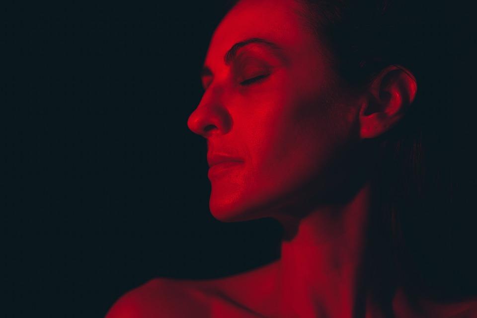 Woman, Light, Portrait, Dark, Profile, Face, Head